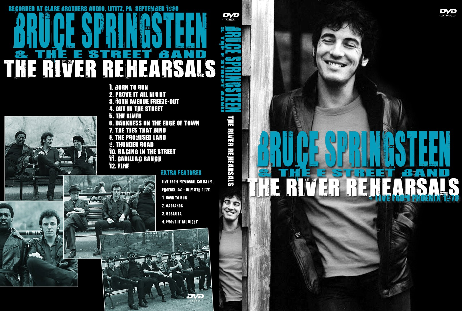 The River Rehearsals 00 Sep 1980 Springsteen Dvds