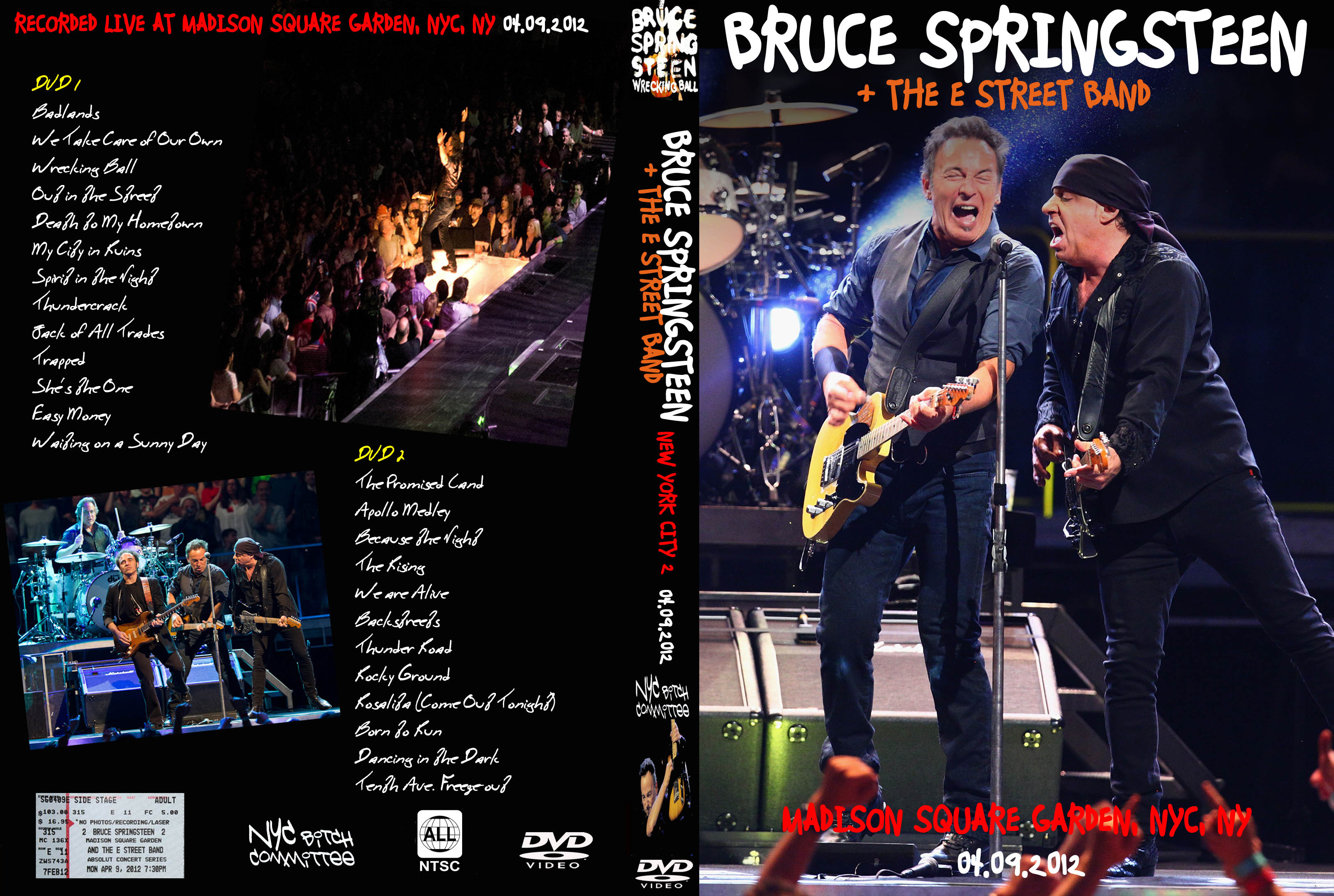 09 Apr 2012 Springsteen Dvds