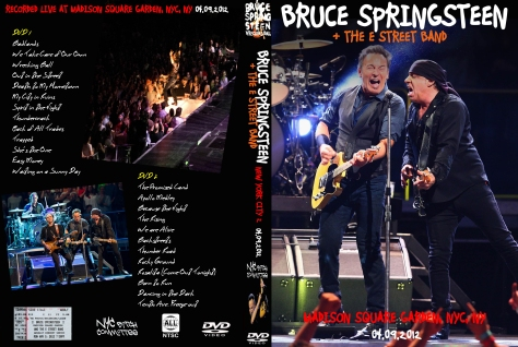 Nyc Bitch Committee Springsteen Dvds The Database Of Bruce Springsteen 39 S Dvd Bootlegs