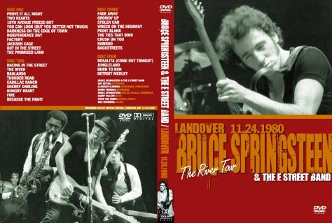 Landover 24 Nov 1980 Springsteen Dvds The Database Of