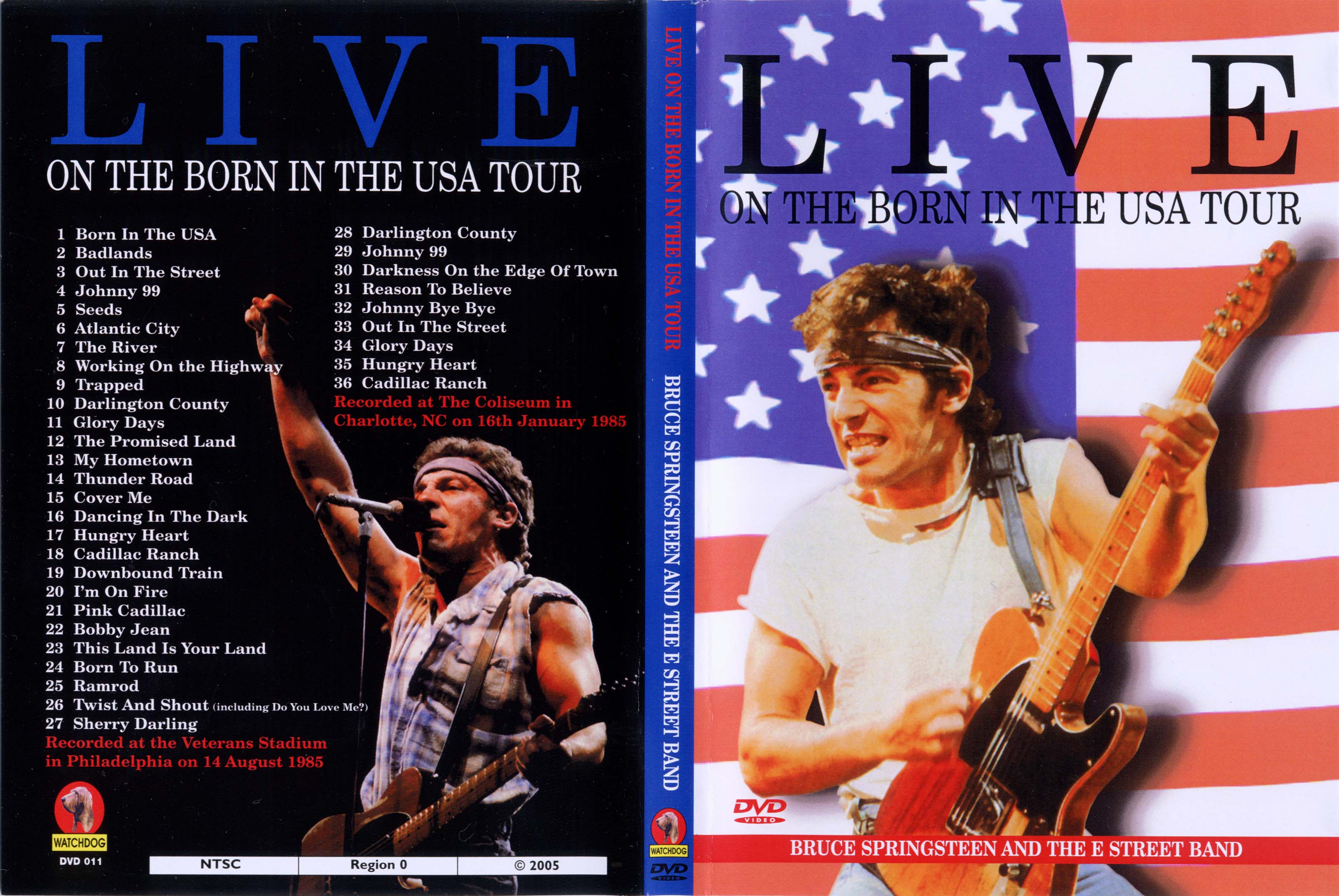 Live On The Born In The U.S.A. Tour 14-Aug-1985 (Watchdog ...