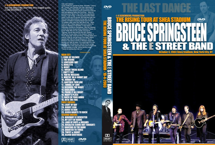 Bruce Springsteen The Rising Tour Edition | Myvacationplan org