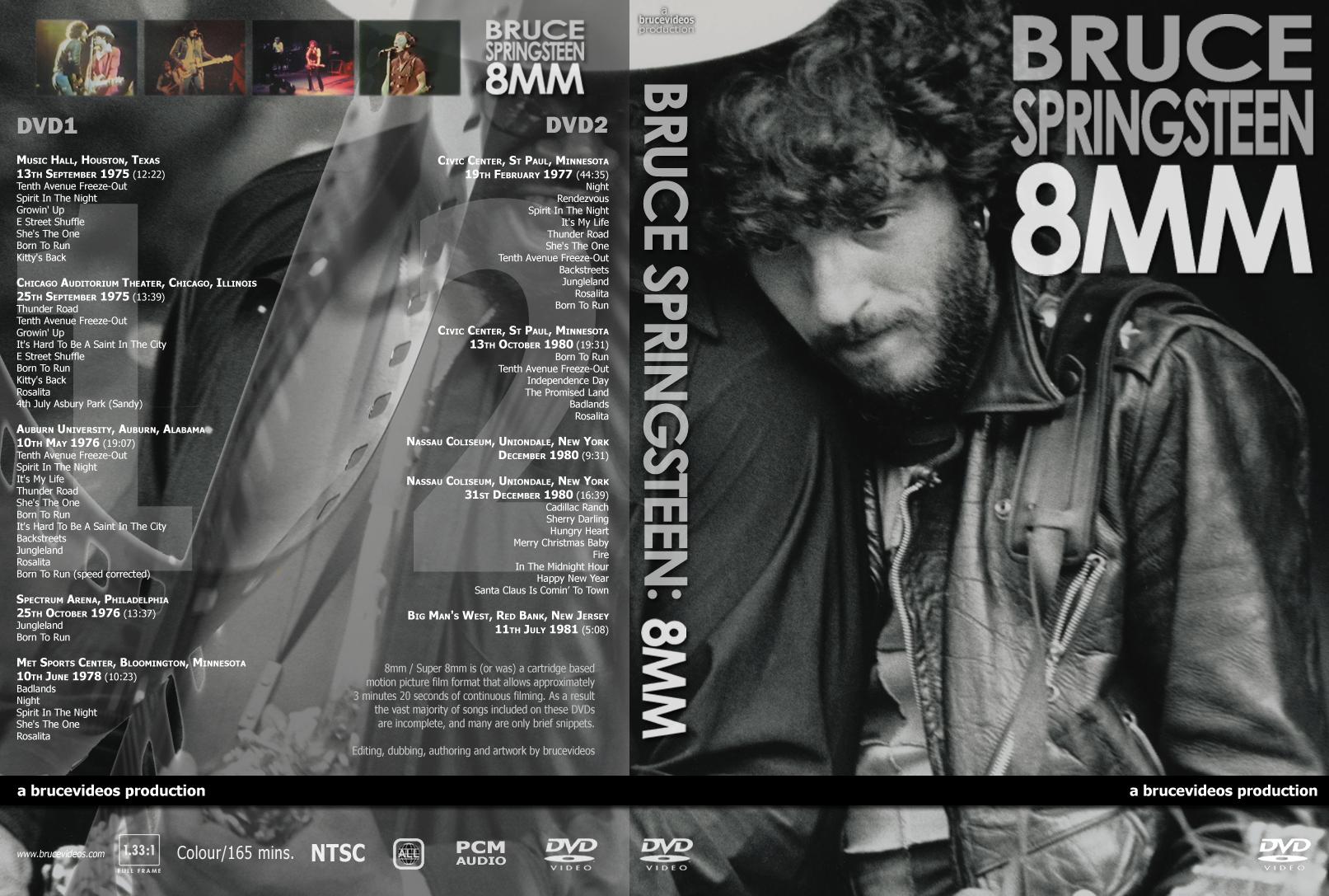 8MM | Springsteen DVDs