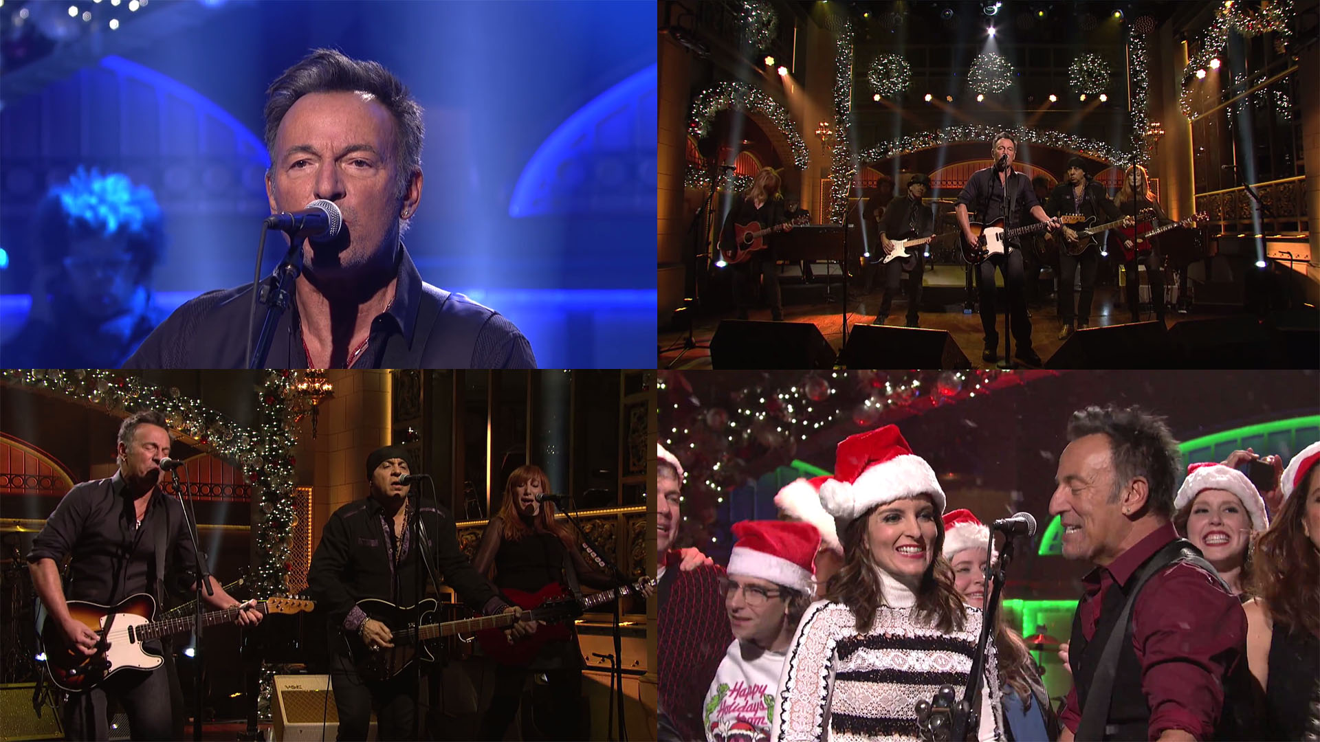 Saturday Night Live 19-Dec-2015 (YouTube Streaming)   Springsteen DVDs
