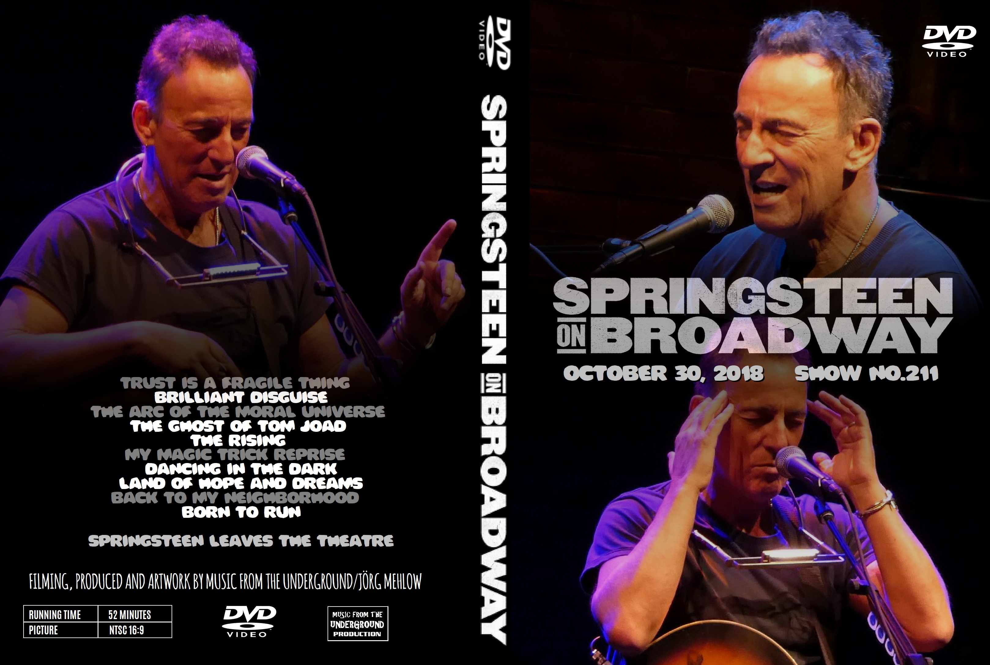 Springsteen On Broadway 30-Oct-2018 (Music From The
